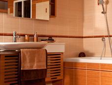 Ukázka rekonstrukce koupelny